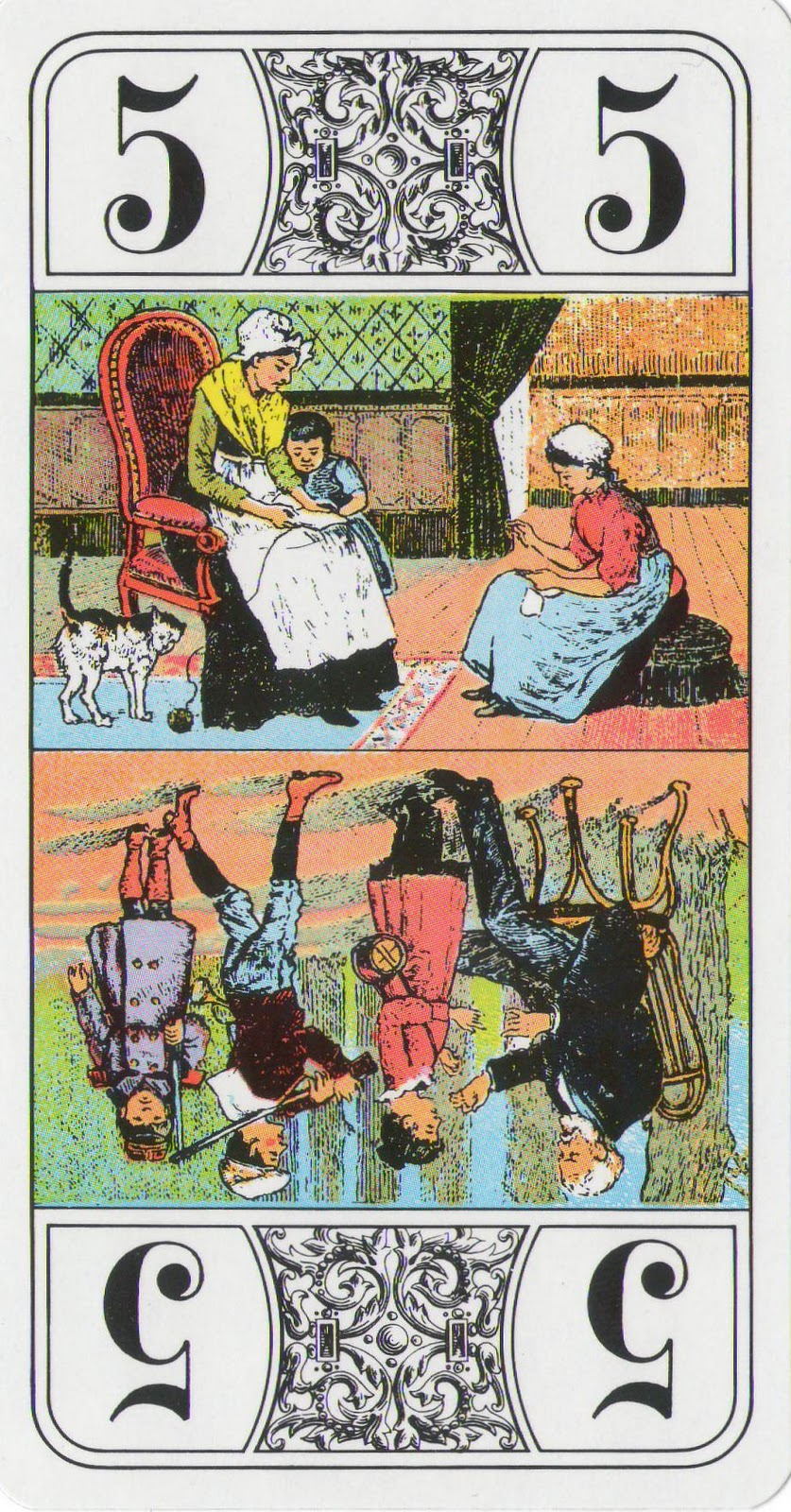 A Closer Look: French Tarot: Trumps 5 & 6