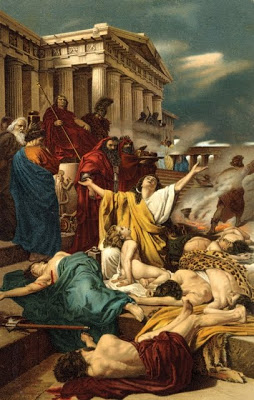 Antonio Ciseri's Martyrdom of the Seven Maccabees