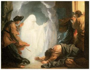 Samuel and the Witch of Endor (West 1777)