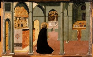 St. Thomas Aquinas at Prayer