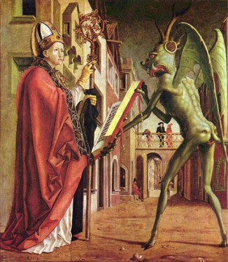 Pacher: St. Wolfgang and the Devil