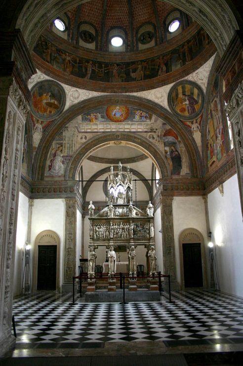 Creative Commons: Veduta della Cappella Portinari della chiesa di Sant'Eustorgio a Milano. Foto di Giovanni Dall'Orto, 1-3-2007