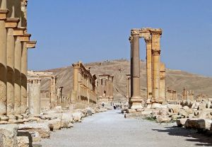 The Great Colonnade, Palmyra