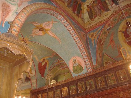 Frescos_in_Saint_Elian_Church_-_Hims,_Syria